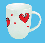Lovebirds Tasse
